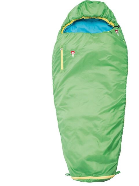 Grüezi-Bag Grow Colorful - Sacos de dormir Niños - verde